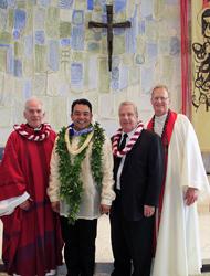 Allen Paquing Vow Ceremony  5-23-15
