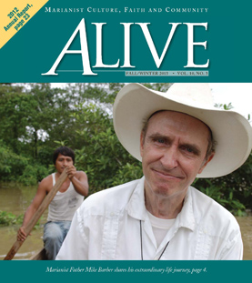 ALIVE Fall/Winter 2013 cover