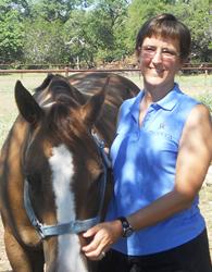 Kay Tally-Foos with horse FOL