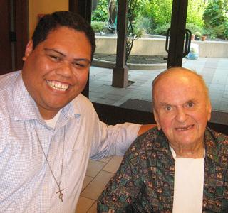 Bro. Brandon Alana Fr. Larry Mann 2015