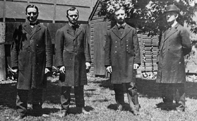 Marianist brothers in Ohio in 1910.