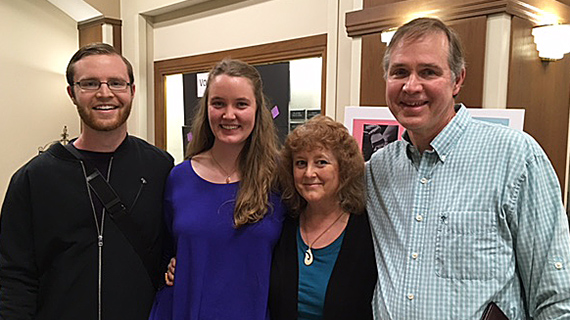 All the members of the Dillon family -- Brendan, Kateri, Mary Ellen and Tim, currently are working for Marianist ministries.