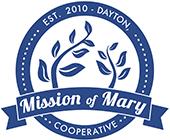 Mission of Mary logo fol