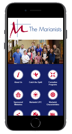 Marianist App Home